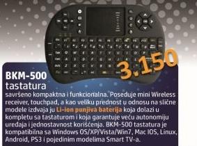 Tastatura BKM-500
