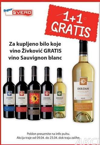 Poklon vino Sauvignon blanc