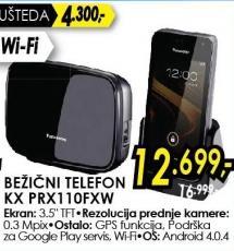 Bežični telefon Kx Prx110fxw