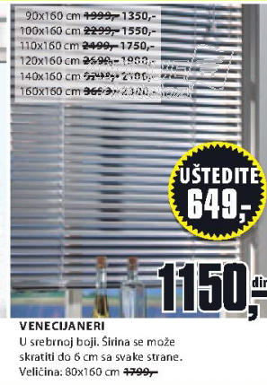 Venecijaneri, 160x160cm