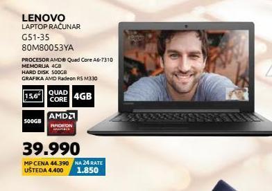 Laptop 80M80053YA