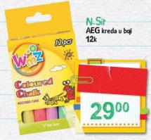 N. Sit AEG kreda u boji 12 kom