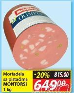 Mortadela sa pistaćima