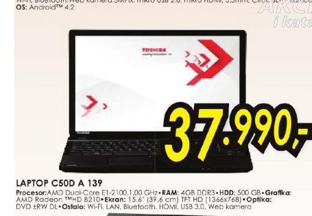 Laptop Satellite C50D-A-139