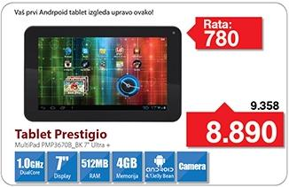Tablet MultiPad Pmp 3670b_Bk