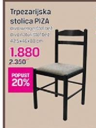 Trpezarijska stolica PIZA