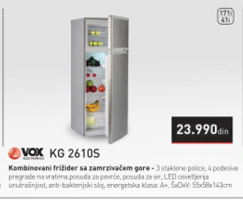 Frižide KG 2610S