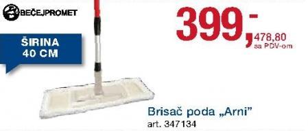 Brisač poda Arni Bečejpromet