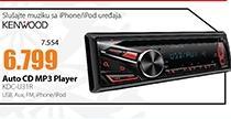 Auto CD MP3 Player KDC-U31R