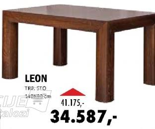 Trpezarijska sto Leon