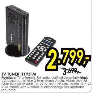 TV tjuner It193fm Intex
