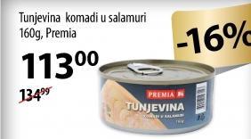 Tunjevina komadi u salamuri