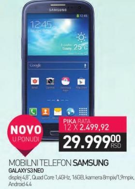 Mobilni Telefon GALAXYS3NEO