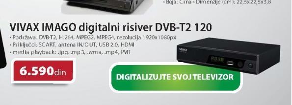 Risiver DVB T2 120