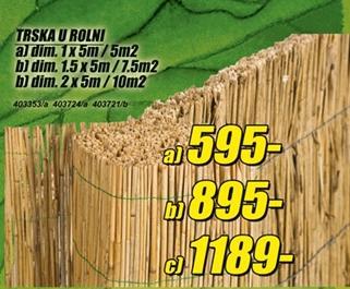 Trska u rolni 2 x 5m/10m2