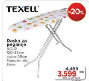 Daska za peglanje Texell
