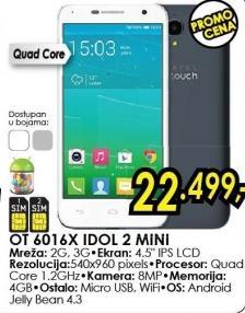 Mobilni telefon IOnetouch Idol Mini 2 6016x
