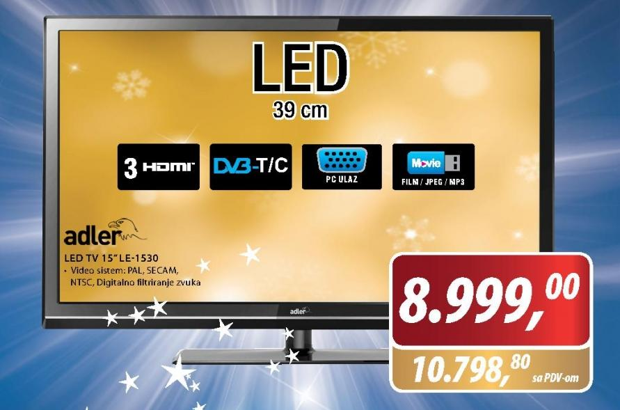 Televizor LED LE-1530