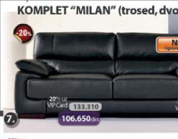 Garnitura Milan