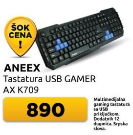 Tastatura Ax k709