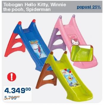 Tobogan Winnie the poog