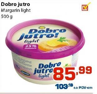 Margarin za mazanje light