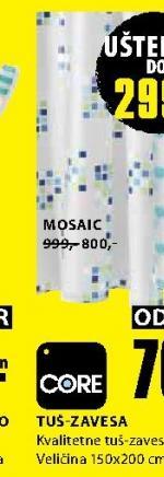 Tuš zavesa Mosaic