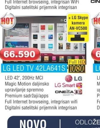 LED TV 42LA641S