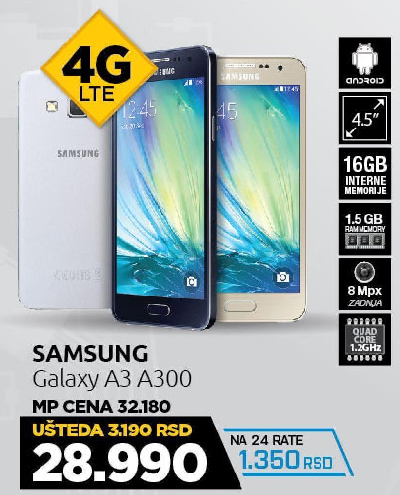Mobilni telefon Galaxy A3 A300 DS