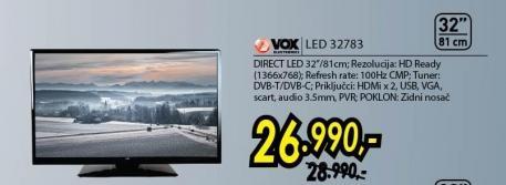 "Televizor LED 32"" 32783"