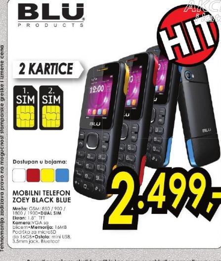 Mobilni telefon ZOEY WHITE