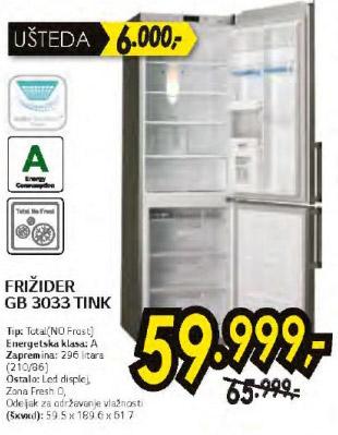 Frižider Gb 3033 Tink