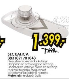Seckalica 3831091701043