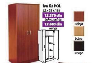 Garderober Iva K2 Pol wenge