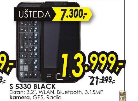Mobilni Telefon S5330 BLACK