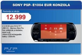 Konzola PSP- E1004eur