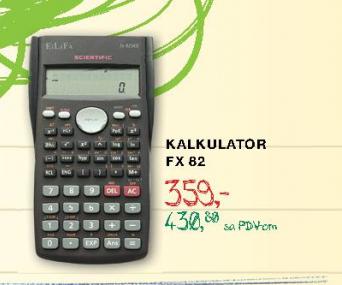 Kalkulator FX82