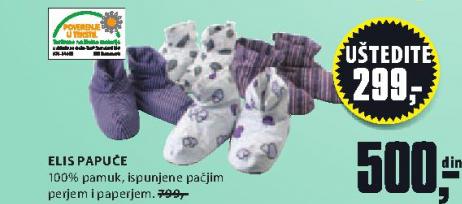 Papuče ELIS
