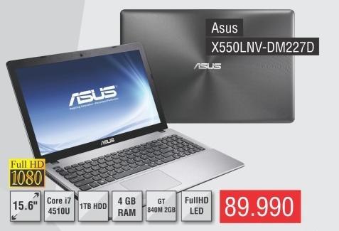 Laptop X550lnv-Dm227d