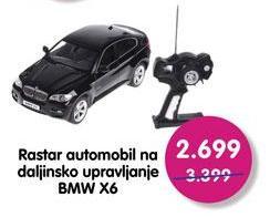 Igračka automobil BMW X6