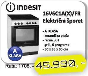 Šporet 16V6C1A(X)FR
