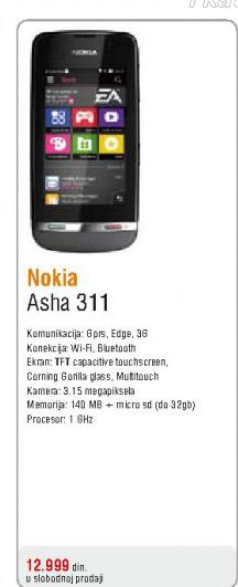 Telefon mobilni Asha 311