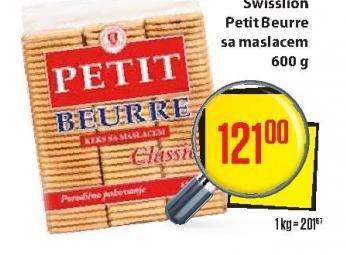 Keks Petit Beurre maslac