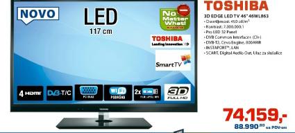 3D Edge LED TV 46WL863