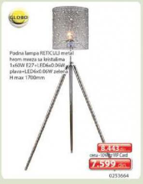 Podna lampa Retkuli