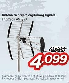 Antena za prijem digitalnog signala Ant299 Thomson