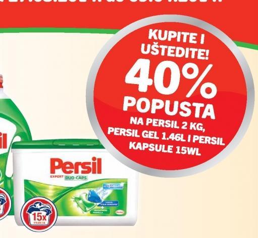 40% popusta na Persil Kapsule 15 WL