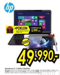 Laptop ENVY Sleekbook 6-1126EA C0V07EA+Poklon: Goclever tablet GCTI720 TERRA 70L