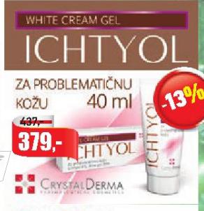 Ichtyol krema za problematičnu kožu
