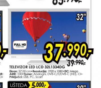 Televizor LED LCD 32L1334DG